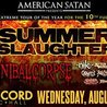 The Summer Slaughter Tour w/ Cannibal Corpse, Nile, After The Burial, & Many More!
