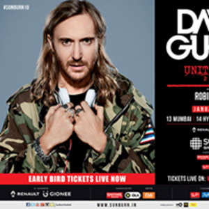 Sunburn Arena with David Guetta & Robin Schulz - Delhi NCR