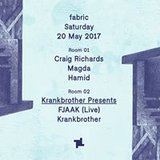 20.5 fabric: Magda & Krankbrother presents with FJAAK (Live)