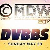 Dvbbs: Memorial Day Weekend at Create
