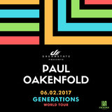 Dreamstate presents Paul Oakenfold: Generations Tour at Exchange