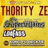 Authority Zero w/ The Supervillians and Loafass at Kung Fu Necktie