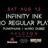 Heineken Official Outside Lands After Party with No Regular Play and Infinity Ink at Halcyon