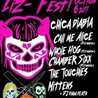 Liz-Fest - Chica Diabla, Call me Alice, Whole Hog, Chamber Sixx, the Touchies, Mittens at The Casbah - San Diego