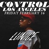 Lunice at Control