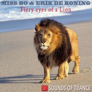 Fiery Eyes of A Lion
